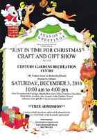 Just in Time For Christmas Craft Show -  Vendors wanted