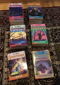57 Original Goosebumps books