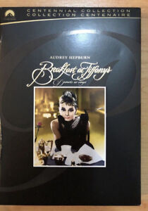 Breakfast At Tiffany's - Centennial Collection DVD 10/10 $8