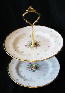 SMALL TIERED CAKE STAND - TUSCAN
