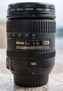 Nikon Nikkor 16-85mm f 3.5 - 5.6 Lens