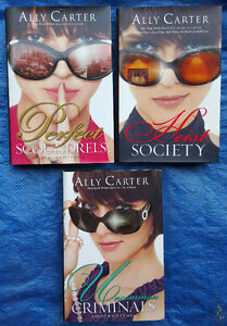 Heist Society mysteries - 3 books