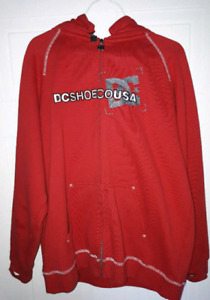 Red DC sweater in excellent condition