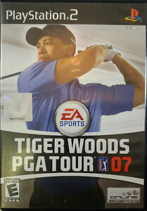 DVD ROM, Jeux Play Station 2, Tiger woods, Pga tour 07