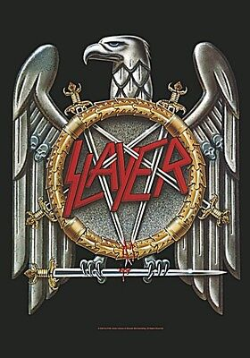 Slayer Eagle large fabric poster / flag 1100mm x 750mm (hr)