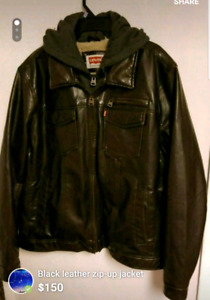 LEVI'S Leather Jacket (MOVING SALE give offer)