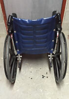 WHEELCHAIR WITH; FOOTRESTS+4 WHEELS($362)