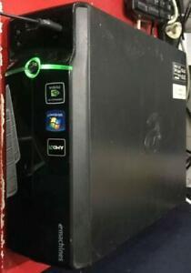E-machine AMD II 170u @2ghz 4gb ram 320gb hdd win 10