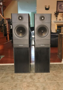 British Tower Speakers from Mordaunt ShortMS 3.50