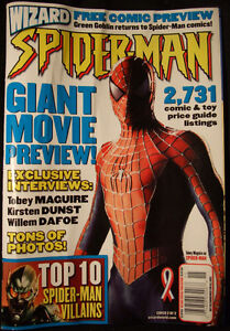 WIZARD Free comic preview - SPIDER-MAN(2002) cover 2/2 Strathcona County Edmonton Area image 1