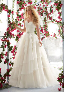 Ivory wedding dress - Morilee