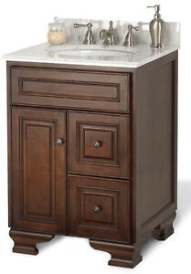 "Foremost International Hawthorne 24"" vanity, without top."