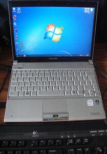 $50 - Toshiba Portege R500 Laptop PC - Faulty Keyboard