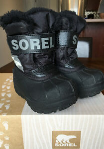 SOREL Toddler's Snow Commander Boots