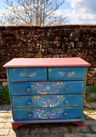 Bohemian chest of drawers