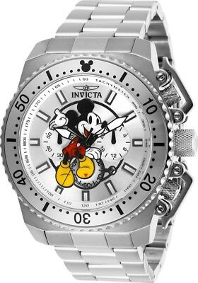 Invicta 27287 Disney Limited Edition Men's Chronograph 48mm Steel-Tone Watch