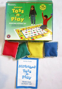 BEAN BAG ALPHABET TOSS N PLAY by Learning Resources. Windsor Region Ontario image 2