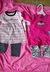 New 2 piece outfits 0 to 3 months