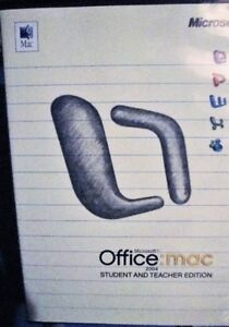 Microsoft Office 2004 for Mac Student and Teacher Edition