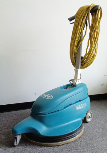 """20"""" CLEAN TENNANT HIGH SPEED BURNISHER w/DUST CONTROL, MODEL 2370, MADE IN USA"""