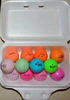 Coloured Golf Balls - $10 / dozen