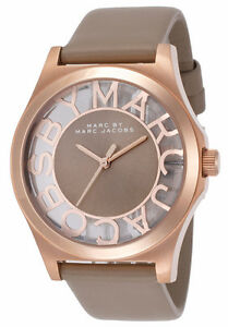 Marc Jacobs Ladies Rose Gold Tone Watch
