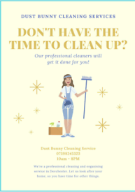 Dust Bunny Cleaning Services