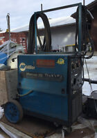 WELDER MILLERMATIC 250 CV/DC WITH CABLES, READY TO USE