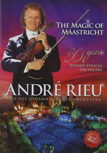 """Andre Rieu DVD """"Magic of Maastricht"""" BRAND NEW SEALED"""