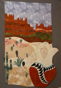 Memories of Sedona-Quilted wall art
