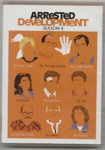 Arrested Development Season 4 DVD (2014)