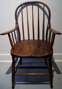 Early 20th C. WINDSOR Chair Antique Vintage FREE DELIVERY