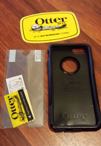 Black iPhone 6 OtterBox Commuter+UNUSED/SEALED Screen Protector
