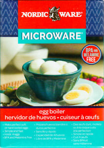 *NEW*Microwave Egg Boiler-Easy Perfect Soft and Hard Boiled Eggs