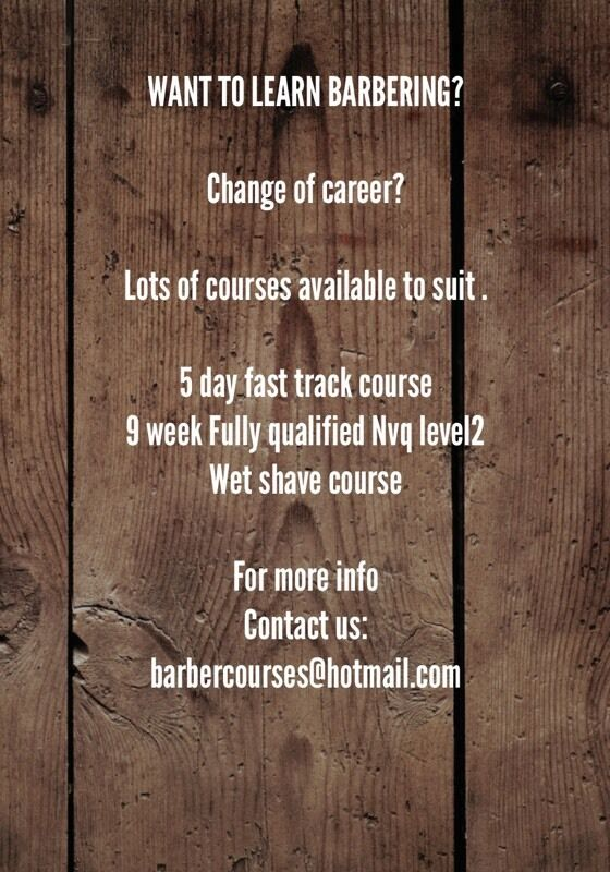 Barbering course london fast track barber courses learn to cut hair