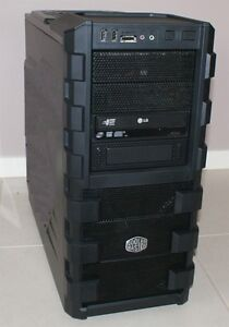 CoolMaster Desktop, i7 quad, 12GB RAM, 128GB SSD, GeForce GTX570