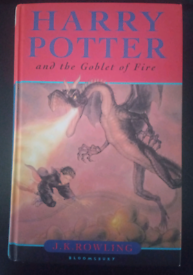 HARRY POTTER & THE GOBLET OF FIRE - BOOK - WOW!