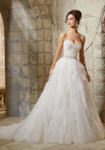 Wedding Dress - Mori Lee (Size 4)