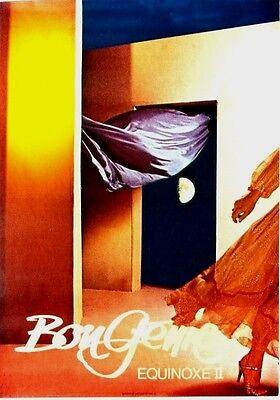 Original vintage poster BON GENIE LADIES FASHION SUMMER c.1984