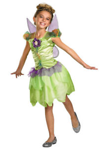Halloween Costume Girls - TinkerBell - Size 7 -8