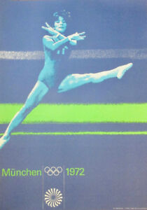 Vintage 1972 Munich Olympic Posters