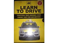 Set Of Three Driving Guides Published By AA