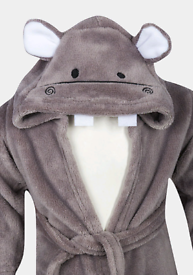 BNWT age 9-12 month hippo dressing gowns