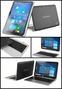 "New Store Display Nextbook 11A 2in1 tablet/ 11.6"" 64gb Window 10"