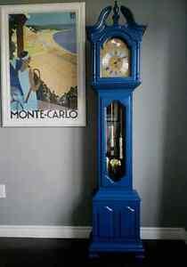 Grandfather clock in cobalt blue Kitchener / Waterloo Kitchener Area image 6