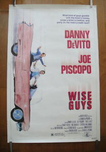 Wise Guys (1986) Original Rolled Movie Poster