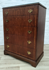 Beithcraft Tallboy Chest Of Drawers (DELIVERY AVAILABLE)
