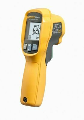 Fluke 62 Max Ir Thermometer Non Contact -20 To 932 Degree F Range Max 500 C