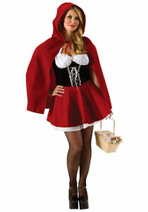 Costume (Femme M) Chaperon Rouge - Red Ridding Hood (Women M)