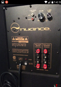 Nuance home theatre system!!